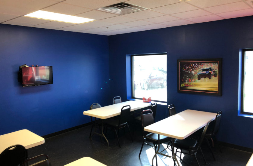 Iowa Speedway Conference Room