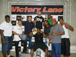New York Jets Visit Pole Position Raceway New York Jersey City