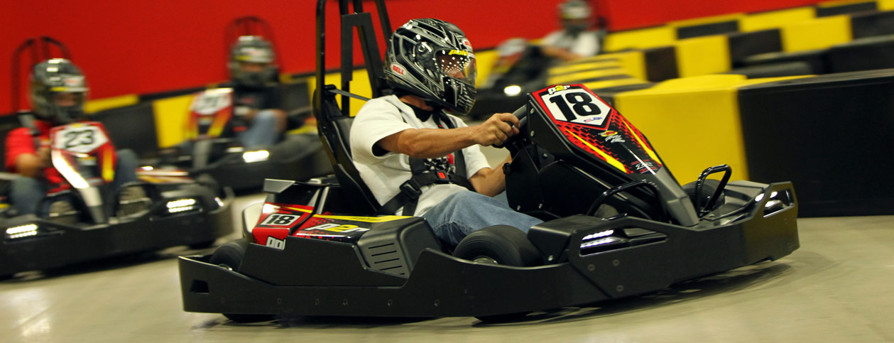 Go Kart Racing in St Louis, Indoor Karting St Louis - Pole Position ...