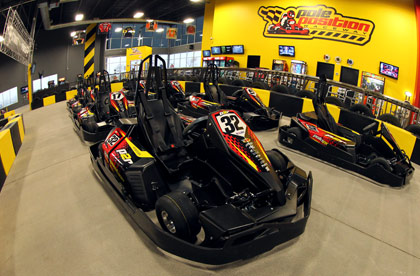Corporate Events Facility Buyout Kart Black