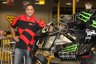 Eyal Farage With Monster Go Kart