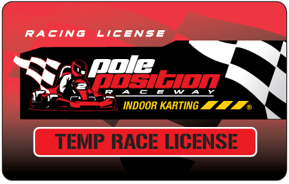 Temp Race License